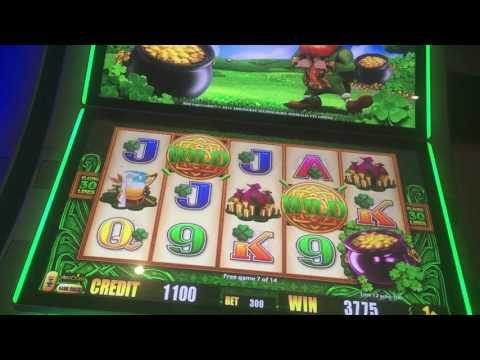Chumash Resort & Casino Bonus Round on Leprechaun Slot