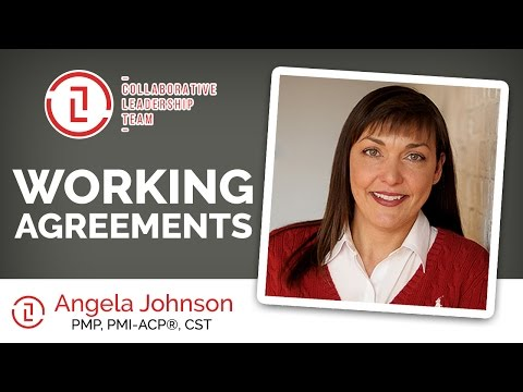 Working Agreements | Angela Johnson