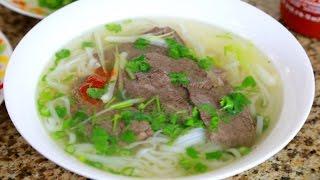 Phở Bò - Vietnamese Beef Noodle Soup Pho
