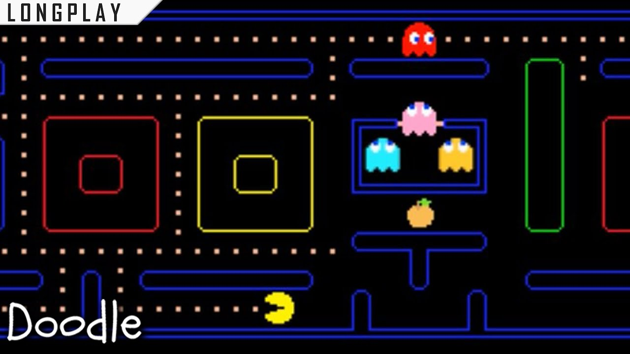pac man google doodle google play games on android youtube pac man google doodle google play games on android
