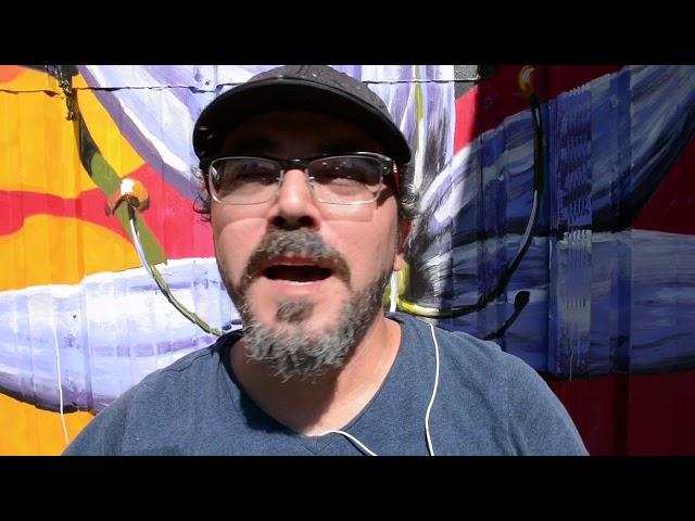 Allan Jeffs Paints Stunning Mural in Camas