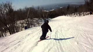 Spring Skiing Mont Tremblant Quebec video 2