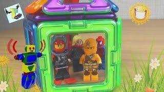 Как правильно ломать дома из МАГФОРМЕРС. Тор научит. Магнитный конструктор Magformers. Лего.