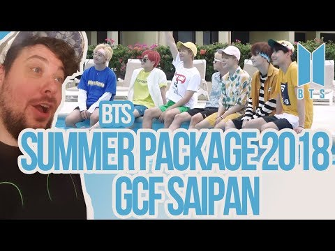 Mikey Reacts To BTS Summer Package 2018 & GCF Saipan