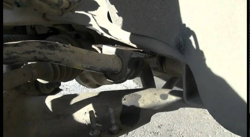 замена втулки и стойки стабилизатора Ford Explorer