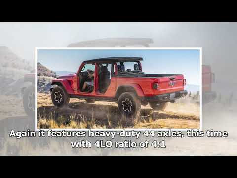 2020 Jeep Gladiator unveiled   CAR NEWS 2019
