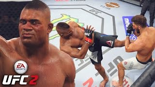 Alistair Overeem Is A Demi-God! From Zero To HERO! EA UFC 2 Online Gameplay