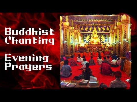 Buddhist Temple Chanting - Evening Prayers 50 mins