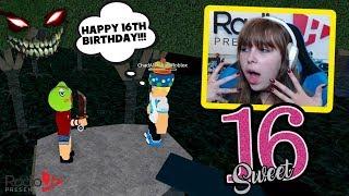 I Killed Chad At My 16th Birthday Camping Party! Roblox RadioJH Games