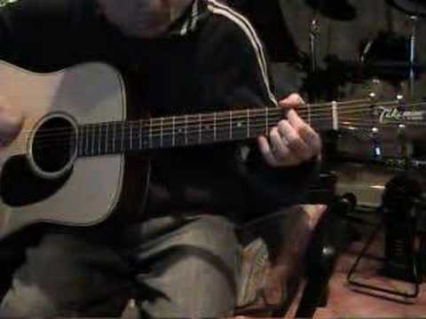 Jigsaw falling into place - Radiohead. on guitar