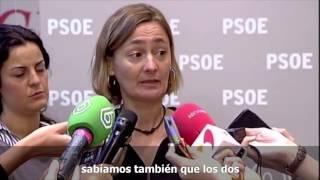 Luz Rodriguez: Rajoy debe dar la cara y explicar las comisiones del PP del 3%