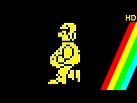 Pyjamarama. ZX Spectrum. Complete Playthrough Commentary. [Spectrum Sunday] HD video