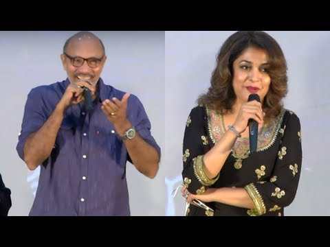 SathyaRaj and Ramya Krishnan Funny speech at Venkat prabhu Party movie launch