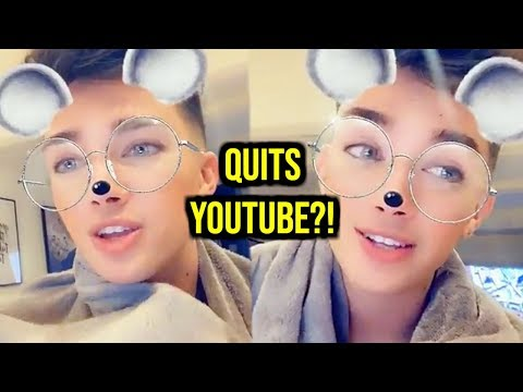JAMES CHARLES QUITS YOUTUBE TO BE A TWITCH STREAMER?! thumbnail