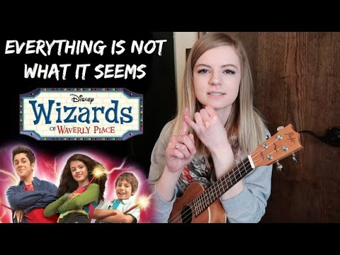 I sang the Wizards of Waverly Place theme song