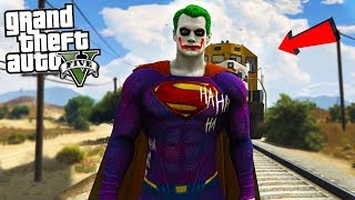 THE JOKER SUPERMAN - GTA 5 Mods