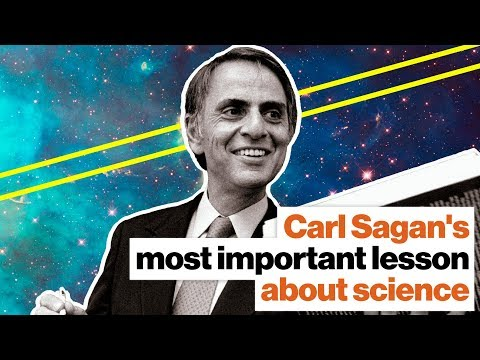 Carl Sagan's most important lesson about science | NASA's Michelle Thaller