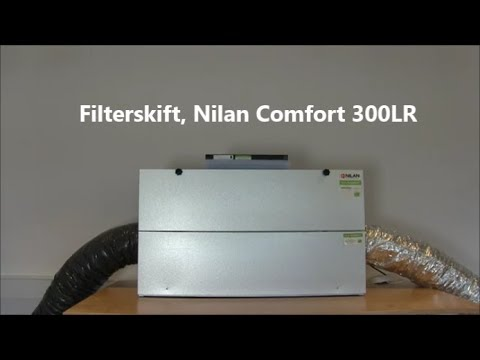 Hypermoderne Filterskift, Nilan Comfort 300LR, Filterhuset.dk - YouTube BU-78
