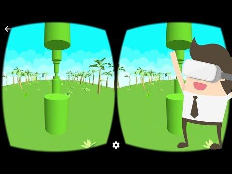 Flappy Bird VR Game Google Cardboard Gameplay