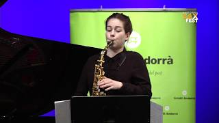 ANJA NEDREMO – 2nd ROUND – III ANDORRA INTERNATIONAL SAXOPHONE COMPETITION 2016