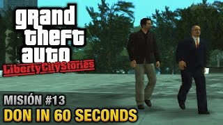 GTA Liberty City Stories - Misión #13 - Don in 60 Seconds (Español / Sin Comentario - PCSX2)