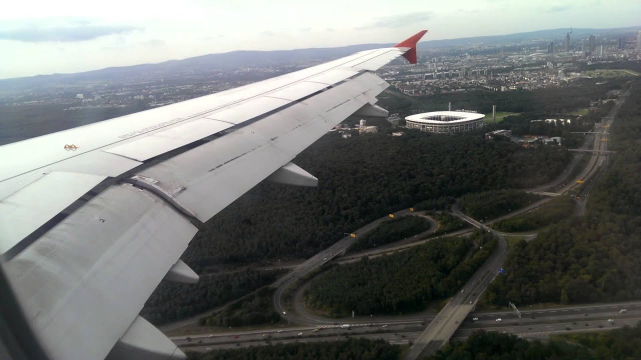 Frankfurt Anflug