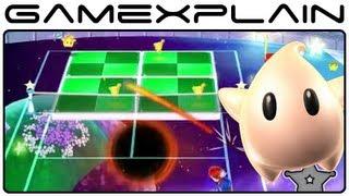 Mario Tennis Open - Galaxy Rally Special Game (Gameplay Footage - Nintendo 3DS)