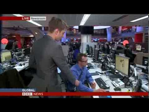 BBC World's Newsroom - How to Report Breaking News
