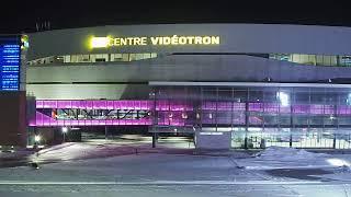Diffusion en direct de QuebecVille - Centre Vidéotron