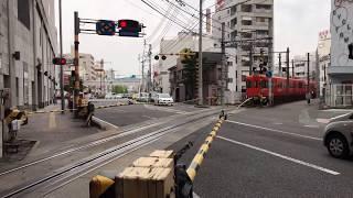 【列車入線】松山市駅〜伊予鉄道横河原線