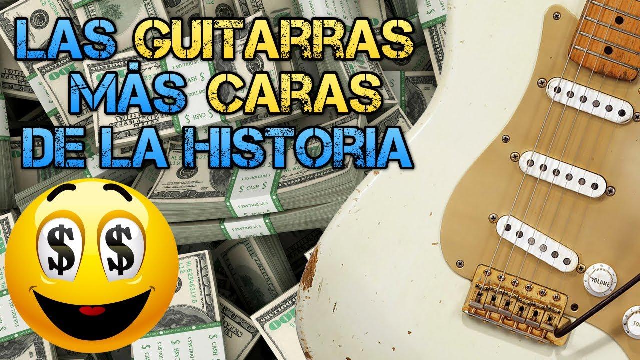 Las 12 GUITARRAS MÁS CARAS de la Historia