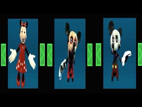 Nightmare Before Disney Simulator *All Animatronics*