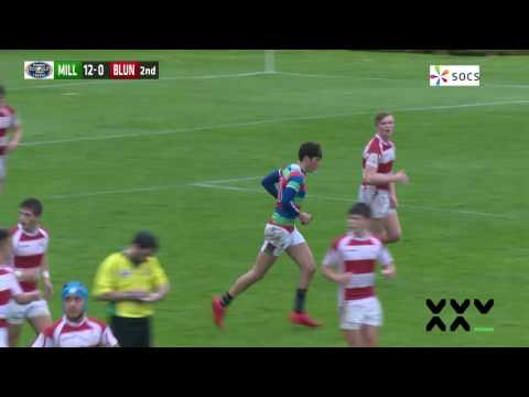 Daily Mail Trophy Highlights: Millfield School v Blundell's