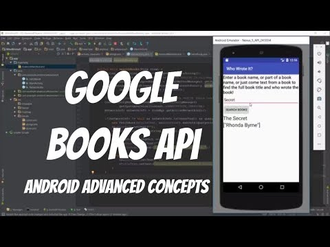 Android AsyncTask Example - Search Books using Google Books API (Part 1)