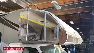 RV Front Cab Repair   RV Repair Shop Orange County