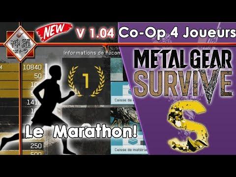 [FR]Metal Gear Survive - LE MARATHON Sauvetage!