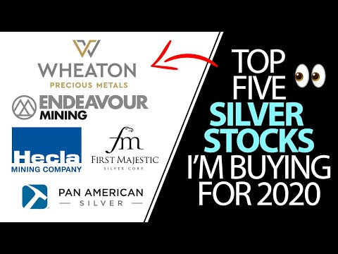 Top 5 Silver Stocks I'm Buying In 2020