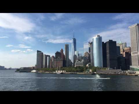 Lower Manhattan in 4k