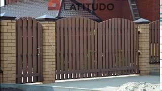 видео Забор из ДПК (декинга) - купить заборную доску из ДПК в Москве