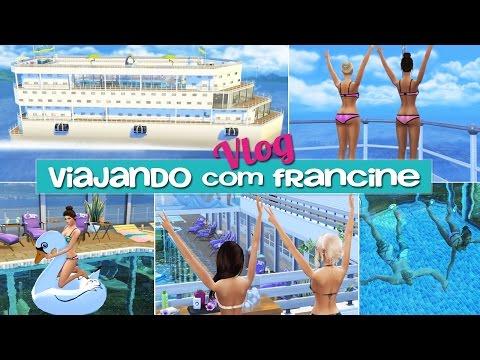 VLOG: Cruzeiro pelo Caribe (Fazendo as malas + tour pela cabine) | The Sims 4