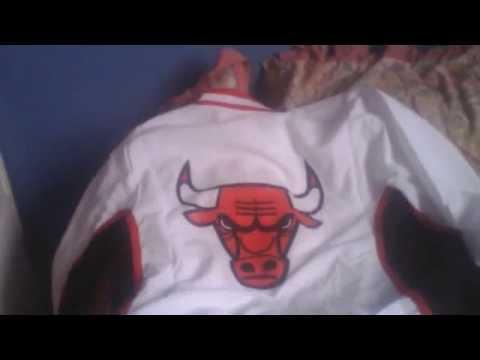 chicago bulls warm up 96-97