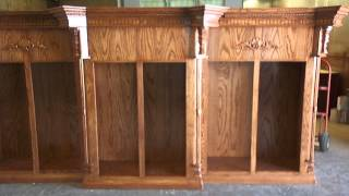 12 X 9 Ash Solid Wood Trophy Case Hecho Por David Ochoa
