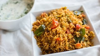 Capsicum rice | Bell Pepper Bath | Easy Rice recipes