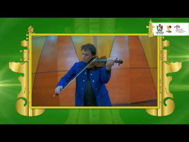 #ConcursoInternacionaldeViolin | Primera ronda de eliminatorias: Juan Ignacio López García