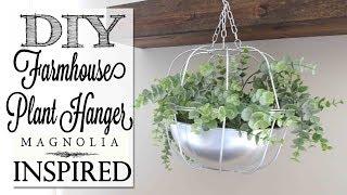 DIY Magnolia Market Inspired Planter | Dollar Tree Craft