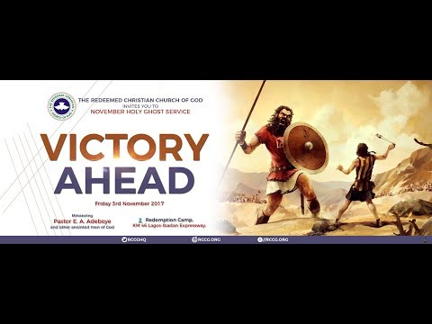 NOVEMBER 2017 HOLY GHOST SERVICE - VICTORY AHEAD