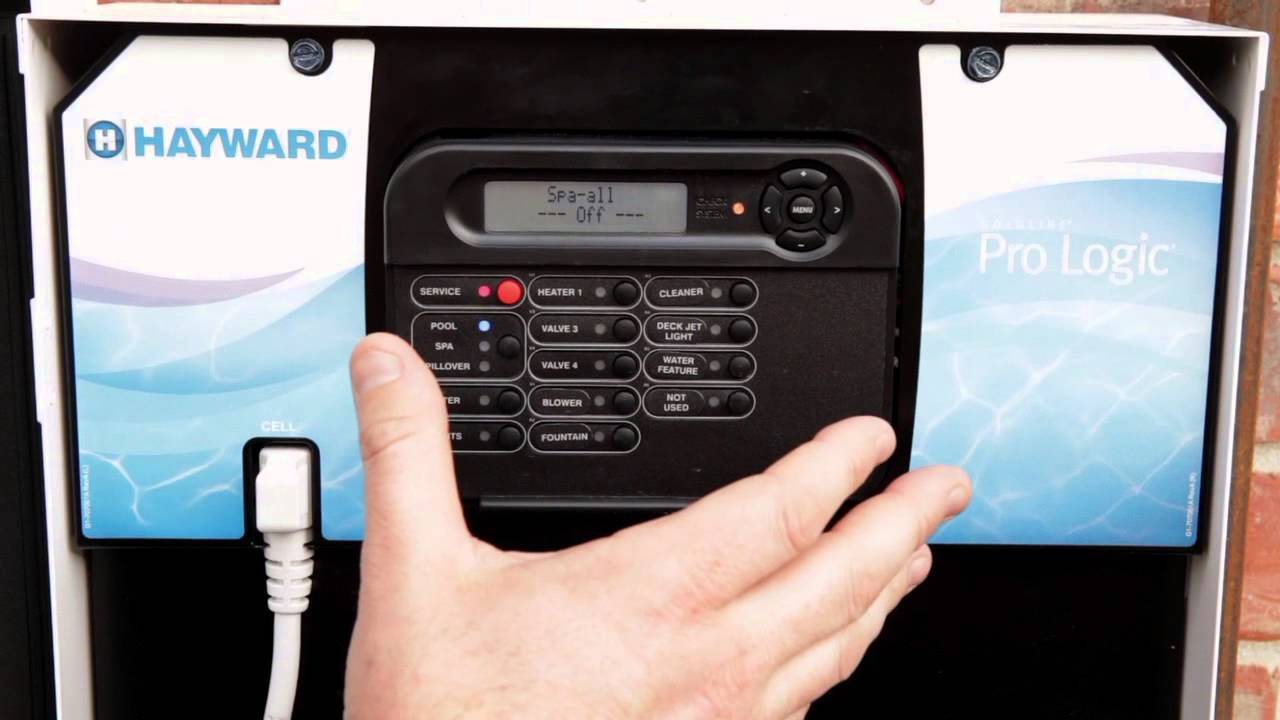 Wireless Pool Pump Timer Wire Center Control Panel Wiring Diagram Pools College Station Hayward Pro Logic Display Setting Rh Youtube Com 240v