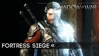 SHADOW OF WAR Terror Stronghold Siege and Dragon Gameplay EARLY ACCESS 1080p 60FPS