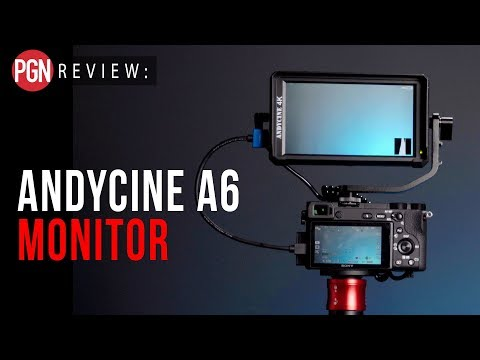 AndyCine A6 Monitor Review - A 5 inch camera monitor that can also power your camera