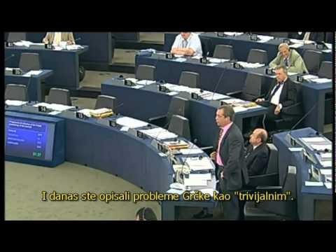Nigel Farage - Nije li EU podjednako loša kao i SSSR gospodine Tusk?